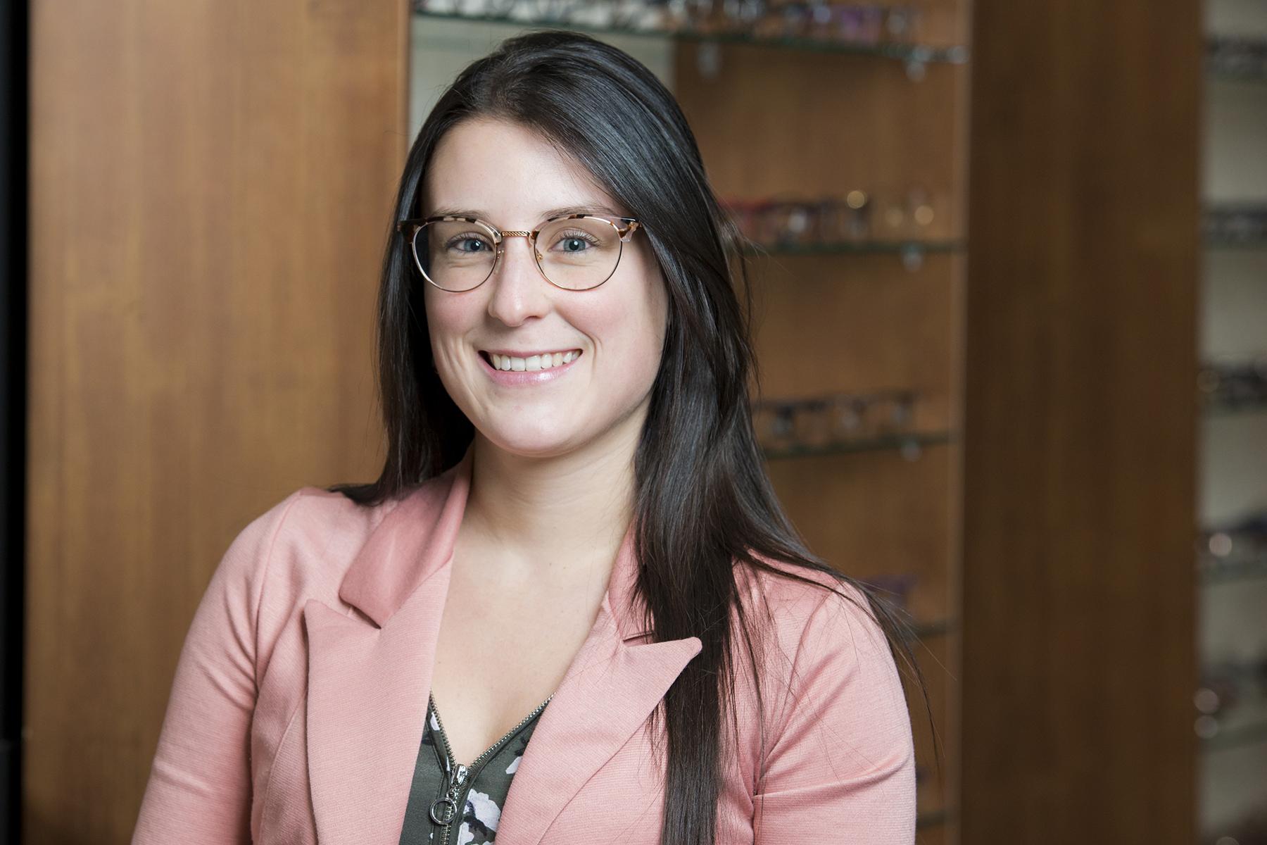 Marie-Josée Martin, opticienne