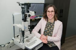 Sarah-Eve Lavoie, optométriste