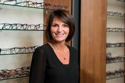 Sonia Martin, opticienne