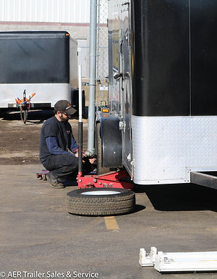 Axle and Brake Service AER Trailer Sales & Service in Waukesha Brake Service Axle Service