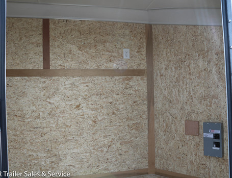 *CUSTOM White Enclosed 6x12 - Window (2