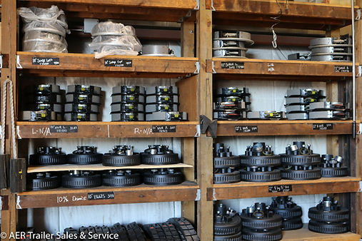 We stock parts AER TRAILER SALES & SERVICE BRAKE DRUMS AND PARTS