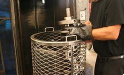 Spraywasher crankshaft cleaning engine parts spray washer washing cleaning engine parts waukesha engine rebuilders southeast wisconsin brookfield west allis greenfield muskego big bend waterford wisconsin