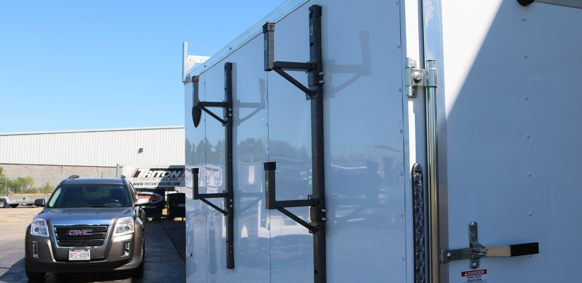 Custom Side Mount Ladder Racks (3 of 3).