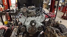 AER Auto & Truck Repair Waukesha Wisconsin skilled mechanic honest dependable repairs low cost engine rebuilding exchanging repairing Complete Engine Exchange