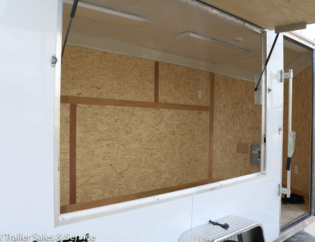 *CUSTOM White Enclosed 6x12 - Window (6