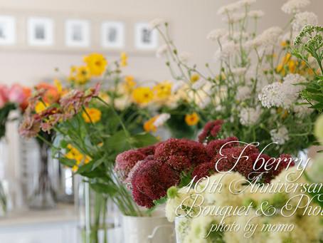 F berry Flower School 10周年記念イベントへ出張フォトレッスン(その1)