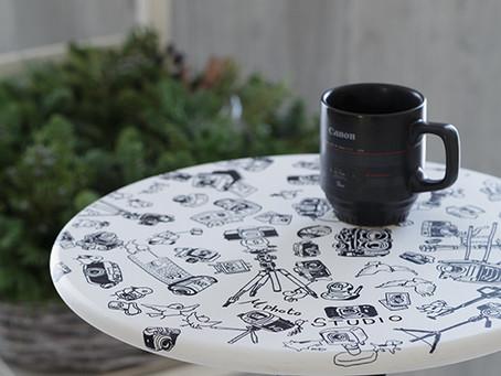 Tripod table(三脚テーブル)