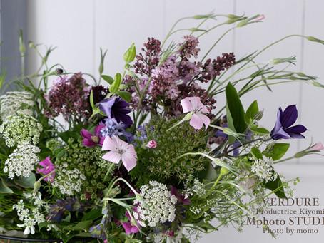 4月のVERDURE花教室