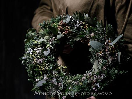 Mphoto Style でクリスマスリースを撮る
