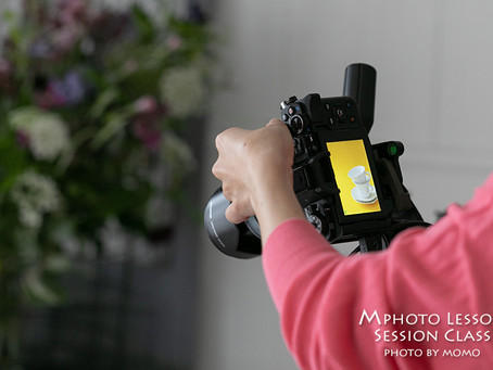 Mphoto Lesson Sessionクラス4月レポ(背景撮り比べ)