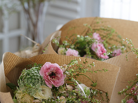 【募集開始】Photo & Bouquet Lesson 5月