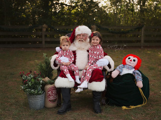 Double Trouble with Santa Claus