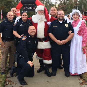 Mrs Claus and The Police Department