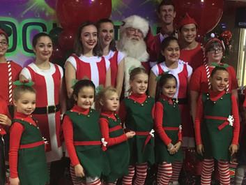 Team Photo with Santa