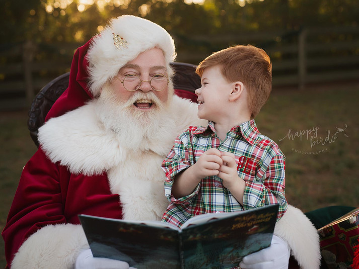 Authentic Santa moments