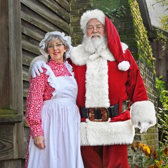 Santa & Mrs. Claus, Huntsville TX