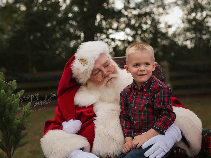 Texan Santa