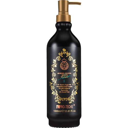 Shampoing lissant entretien lissage brésilien 250ml/1000ml N°3