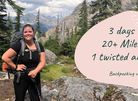 Ladies Backpacking Trip to Spectacle Lake, WA
