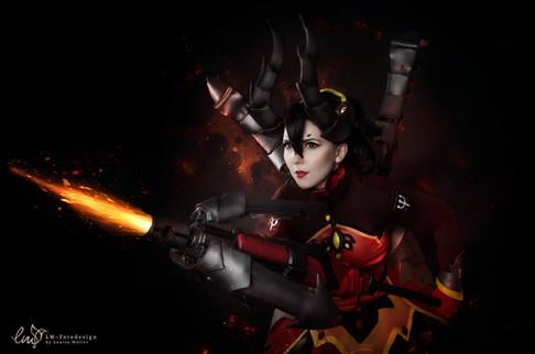 Mercy OVerwatch Devil Skin 2