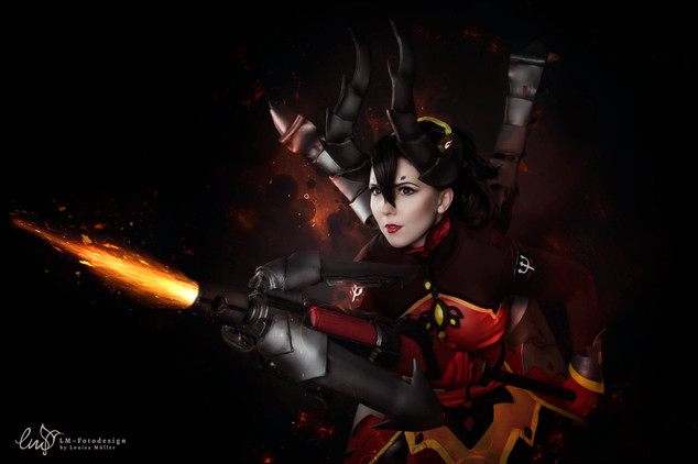 Mercy OVerwatch Devil Skin 2