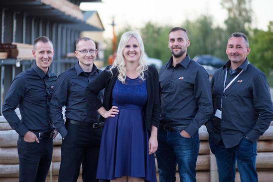 Mitarbeiter Gruppenfoto