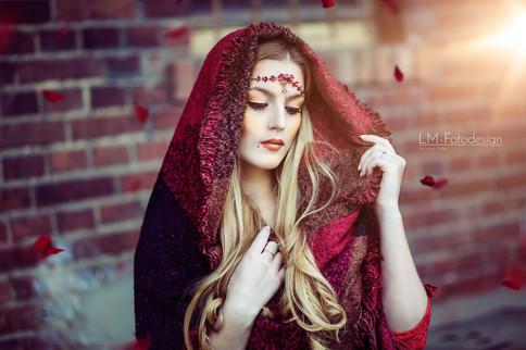 Red Ridding Hood Fantasy Portrait