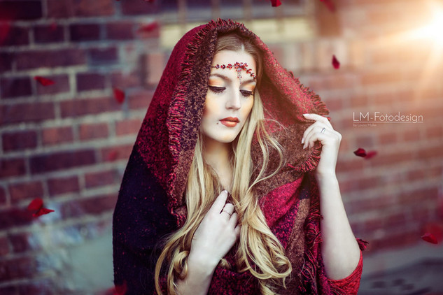 Red Ridding Hood Fantasy Portrait