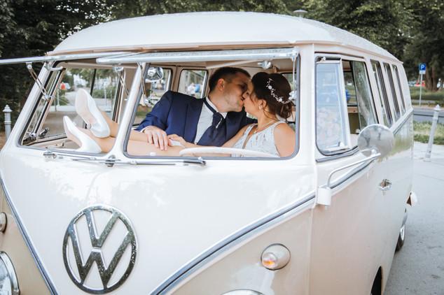 Hochzeit VW Bus