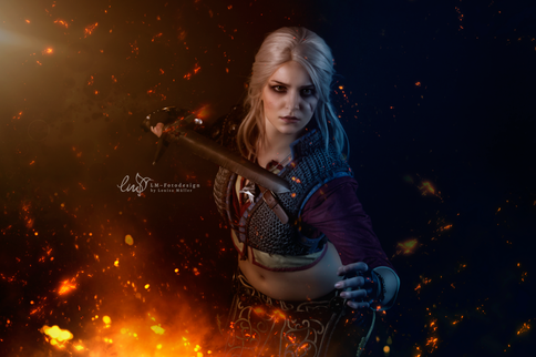 The Witcher Cosplay Dreamhack