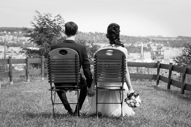 Hochzeit Zusammen für immer