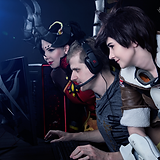 HiTech Cosplayer Overwatch