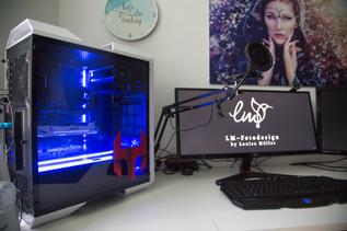 Studio PC Arbeitsplatz