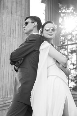 Cooles Brautpaar
