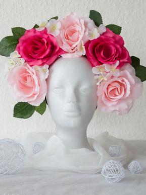 lovely roses Kopfschmuck
