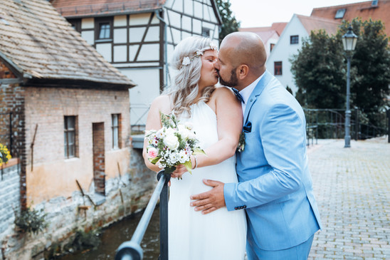 Vintage Brautshooting Dorf