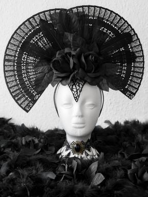 Raven Queen Kopfschmuck