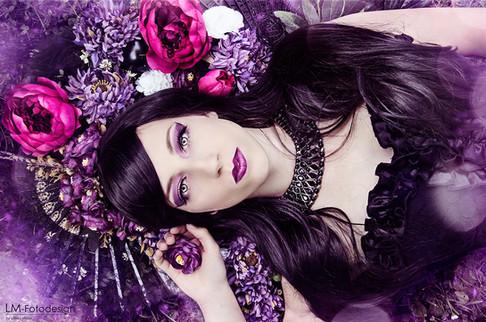Violett Dream Fantasy Portrait
