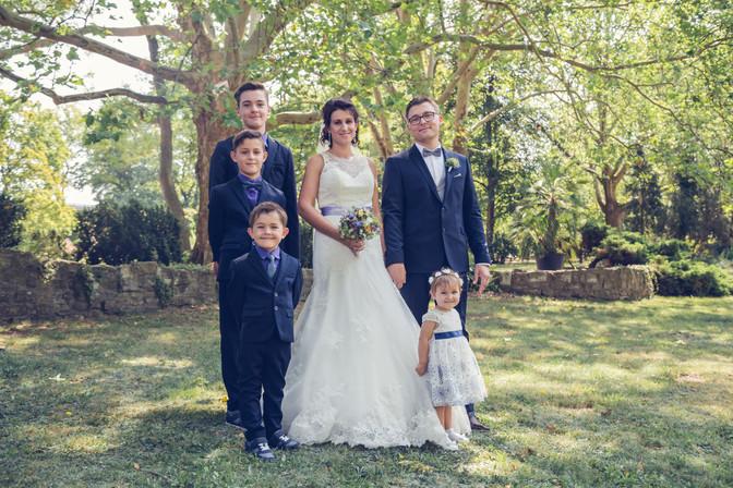 Familienbild Hochzeitsshooting