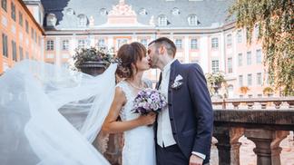 Brautpaar Vitage Schleier
