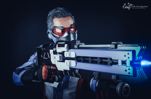 Solider 76 Cosplayer Dreamhack