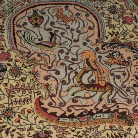 Tabriz - 10' x 14' - Silk Base - #2