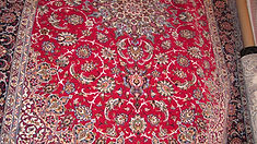 Isfahan - Silk Base 8'6'' x 12' - Signed