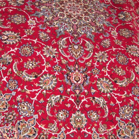 Isfahan - Silk Base 8'6'' x 12' - Signed