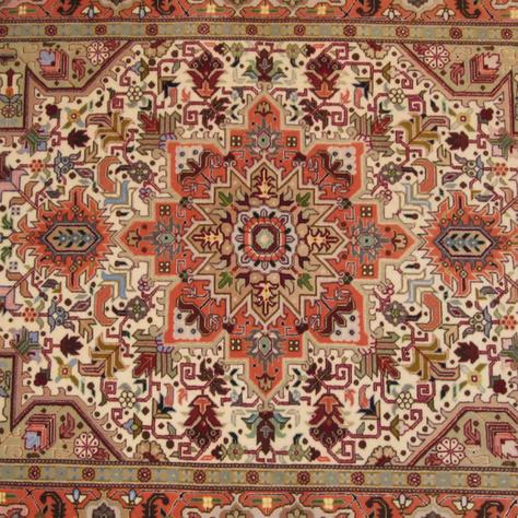 Tabriz - 3'5'' x 5' - Signed Adabi
