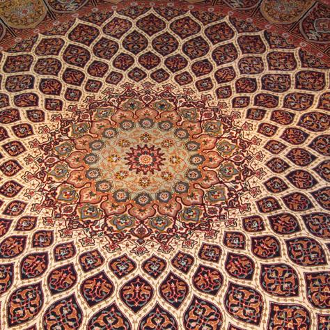 Tabriz - 10' x 10' - Silk Base