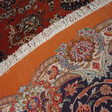 Ghoum 1 of 2 custom twin rugs - 10' x 13
