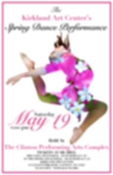 Spring Dace Performanc at the Kirkland Art Center, Clinton, NY