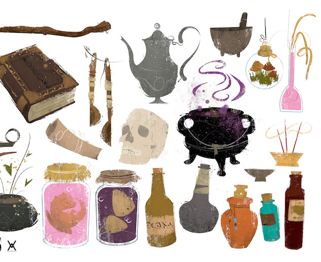 Witch Props